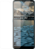 Azuri Tempered Glass Nokia 2.4 Displayschutzfolie Rinox Armor