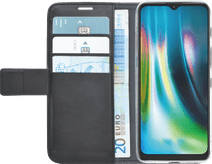 Azuri Wallet Motorola Moto G9 Play / E7 Plus Book Case Schwarz