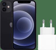 Apple iPhone 12 Mini 128 GB Schwarz + Apple USB-C-Ladegerät 20W