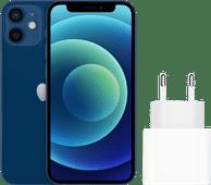 Apple iPhone 12 Mini 128 GB Blau + Apple USB-C-Ladegerät 20W