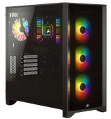 Corsair iCUE 4000X RGB Tempered Glass Mid-Tower ATX Case