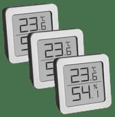 TFA Thermo-Hygrometer 3er Pack