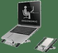Neomounts by Newstar NSLS100 Faltbarer Laptopständer Silber
