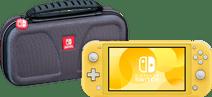 Nintendo Switch Lite Gelb + Bigben Offizielle Nintendo Switch Lite-Schutztasche