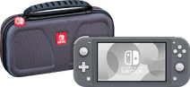 Nintendo Switch Lite Grau + Bigben Offizielle Nintendo Switch Lite-Schutztasche