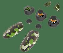 Thrustmaster eSwap Pro Controller Zubehörpaket, Grün