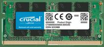 Crucial 16 GB 2.666 MHz DDR4-SODIMM (1 x 16 GB)
