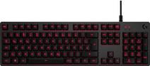 Logitech G413 mechanische Gaming Tastatur Schwarz QWERTZ