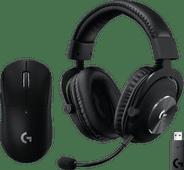 Logitech G PRO X Wireless LIGHTSPEED Gaming-Headset + Logitech G Pro X Superlight kabellos