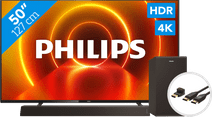 Philips 50PUS7805 - Ambilight + Soundbar + HDMI-Kabel