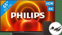 Philips 65PUS7805 - Ambilight + Soundbar + HDMI-Kabel