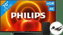 Philips 70PUS7805 - Ambilight + Soundbar + HDMI-Kabel