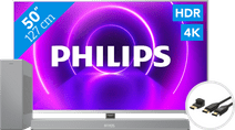 Philips 50PUS8505 - Ambilight (2020) + Soundbar + HDMI-Kabel