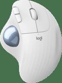 Logitech M575 ERGO Kabellose Trackball-Maus Weiß