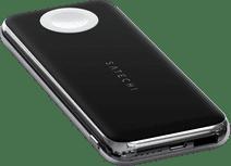 Satechi Quattro Kabellose Powerbank 18 W Power Delivery mit Apple Watch Ladegerät