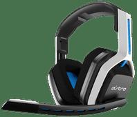 Astro A20 Kabelloses Gaming-Headset für PS5, PS4, PC, Mac - Weiß/Blau