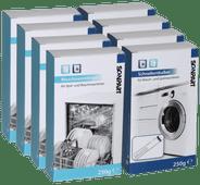 Multipack Geschirrspüler/Waschmaschine Reinigung und Entkalker 4+4
