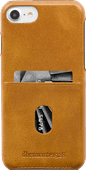DBramante1928 Tune CC Apple iPhone 6 / 7 / 8 / SE Back Cover Leder Braun