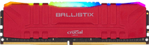 Crucial Ballistix 8 GB 3.200 MHz DDR4-DIMM CL16 RGB Red (1 x 8 GB)