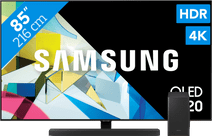 Samsung QLED GQ85Q80T + Soundbar
