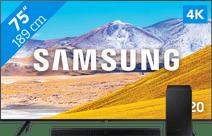 Samsung Crystal UHD GU75TU8079 + Soundbar