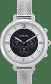 Fossil Monroe Hybrid HR FTW7040 Silber
