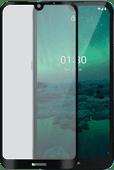 Azuri Tempered Glass Nokia 1.3 Displayschutzfolie Rinox Armor Schwarz