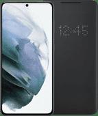 Samsung Galaxy S21 256 GB Grau 5G + Samsung Smart Led View Cover Schwarz