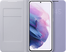 Samsung Galaxy S21 Plus 256 GB Lila 5G + Samsung Smart Led View Cover Violett