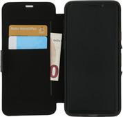 GEAR4 D3O Oxford Samsung Galaxy S9 Plus Bücherregal Schwarz