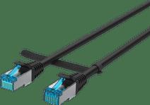 BlueBuilt Netzwerkkabel STP CAT6 1 Meter Schwarz
