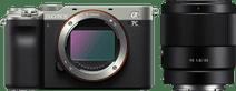 Sony A7C Silber + FE 35 mm f/1.8