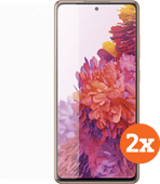 Azuri Tempered Glass Samsung Galaxy S20 FE Displayschutzfolie Doppelpack