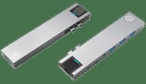 BlueBuilt USB-C 8 in 1 MacBook Docking Station Silber