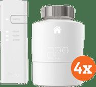 Intelligenter Tado-Heizkörperthermostat Starter 4er-Pack