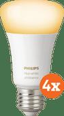 Philips Hue White Ambiance E27 Bluetooth 4er-Pack