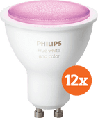 Philips Hue White and Color GU10 Bluetooth 12er-Pack