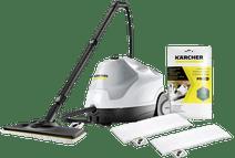 Kärcher SC 4 EasyFix Premium + Mikrofaser Wischtücher +  Entkalkungspulver