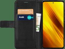 Just in Case Xiaomi Poco X3 Book Case Schwarz