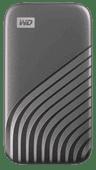 WD My Passport SSD 4 TB Space Grau