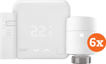Starterpaket intelligenter Tado-Thermostat V3+ + 6 Heizkörperventile