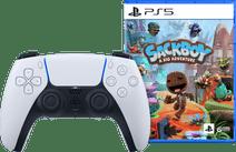 Sony PlayStation 5 DualSense kabelloser Controller + Sackboy: A Big Adventure PS5