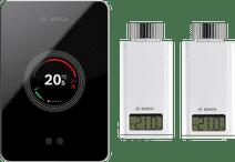 Bosch EasyControl CT200 Schwarz + 2 x Bosch EasyControl Smart Radiator Thermostat RT10-RF
