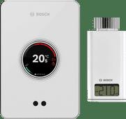 Bosch EasyControl CT200 Weiß + Bosch EasyControl Smart Radiator Thermostat RT10-RF