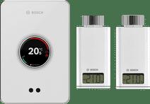Bosch EasyControl CT200 Weiß + 2 x Bosch EasyControl Smart Radiator Thermostat RT10-RF