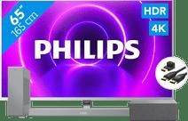 Philips 65PUS8505 + Soundbar + WLAN-Lautsprecher + HDMI-Kabel