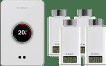 Bosch EasyControl CT200 Weiß + 4x Bosch EasyControl Smart Radiator Thermostat RT10-RF