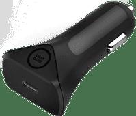 BlueBuilt-Autoladegerät ohne Kabel und mit Power Delivery 30 W, Schwarz