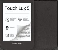 PocketBook Touch Lux 5 Ink Schwarz + PocketBook Shell Book Case Schwarz