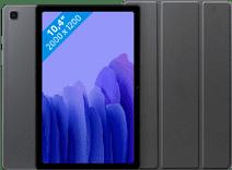 Samsung Galaxy Tab A7 32GB WLAN Grau + Just in Case Bookcase Schwarz